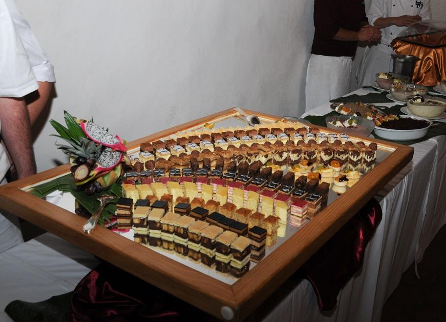 Grosse Auswahl am Dessertbuffet.